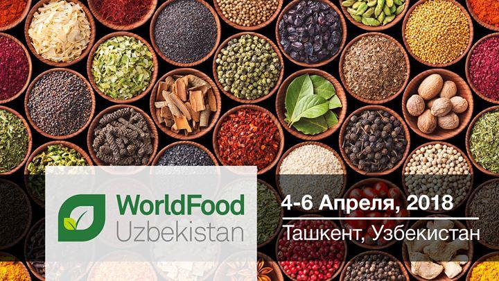 Участие в 8-й Международной выставке WorldFood Uzbekistan